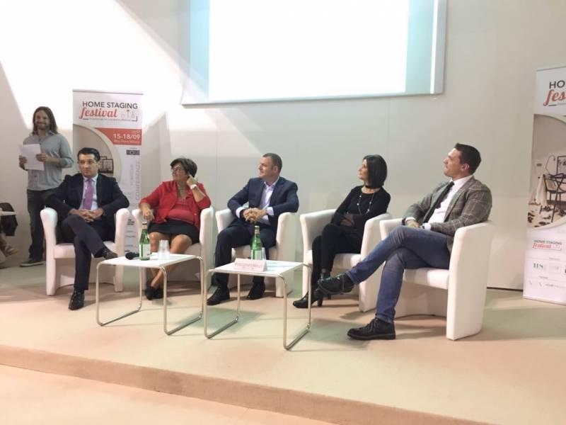 Speaker ad un importante evento sul mercato immobiliare italiano, un invito che non è arrivato per caso